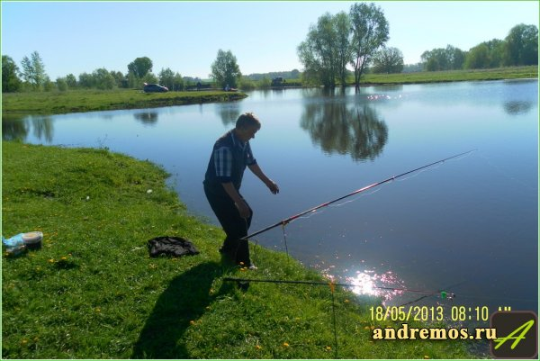 Рыбалка в Губино и Комаровке