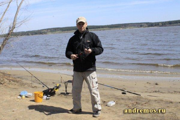 На рыбалку за карасем