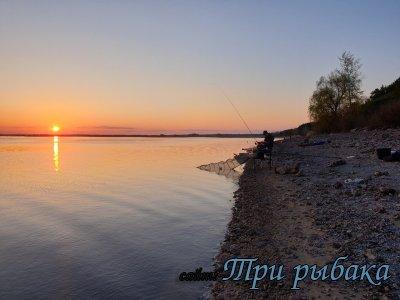 """Сызранские рыбаки в мае на """"Медике"""""""