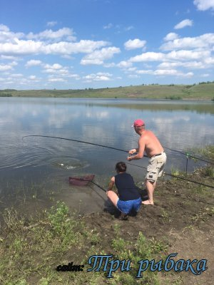 Отдых и рыбалка в Новой Рачейке.