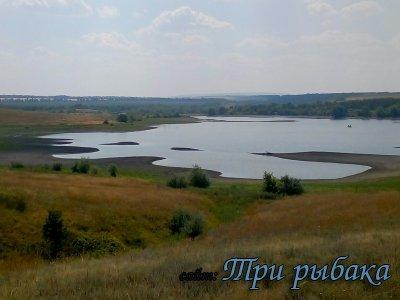Рыбалка на озере в Новой Рачейке 2020
